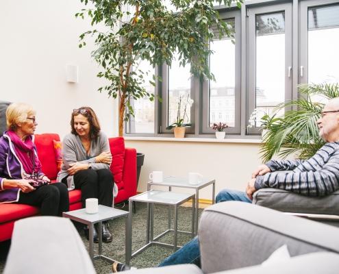 Spenden in Hamburg: Das Hospiz auf St. Pauli bietet auch An- und Zugehörigen Räumlichkeiten für den Aufenthalt und den Rückzug