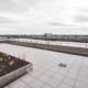 Festland: Blick von der Gemeinschafts-Dachterrasse