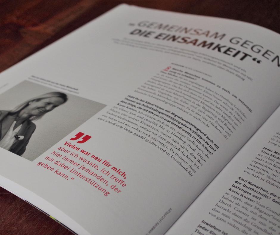 Einblick in das mut.macher-Magazin von Hamburg Leuchtfeuer