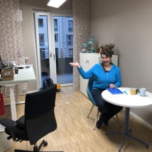Nicola Le Mouillour in ihrem Büro