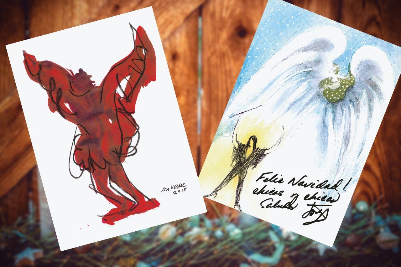Benefiz Weihnachtskarten Hamburg Leuchtfeuer