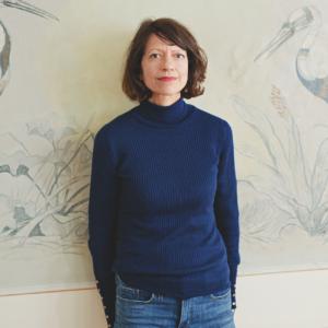 Autorin Louise Brown im Porträt