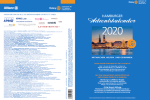 Rückseite des Hamburger Spendenkalenders 2020