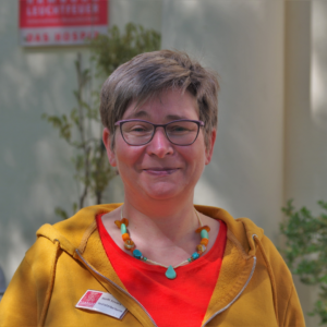Steffi Severs vom Hamburg Leuchtfeuer Hospiz zum Tag der Pflegekräfte