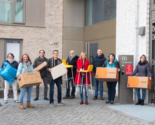 Spenden in Hamburg: Seit Dezember 2020 sitzt das Team von Aufwind an unserem neuen Standort in der Baakenallee - gefördert von zahlreichen Spender*innen