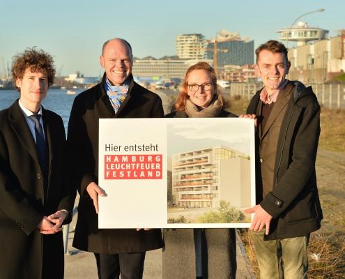 Spenden in Hamburg: Durch Spenden und Förderungen von gut 5 Millionen Euro wurde das Wohnprojekt Festland möglich gemacht